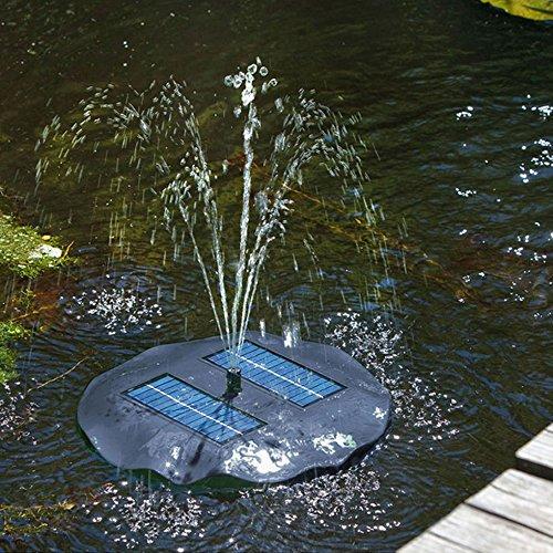 FIAP Brunnen und Kaskaden Solar Active Fountain, blau