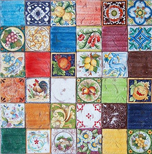 in ceramica ideali per cucina o cucina Taner Piastrelle da ...