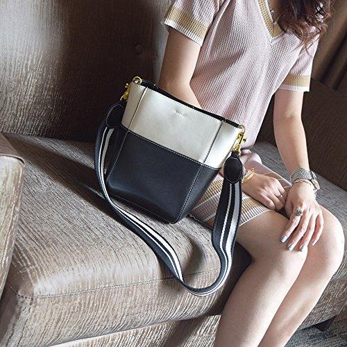 Sacchetto selvatico semplice della benna, borsa, sacchetto della figlia, zaino obliquo della spalla, pacchetto estivo ( Colore : Verde ) Nero