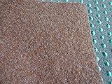 Kunstrasen (4€/m²) braun mit Noppen 400 x 400 cm