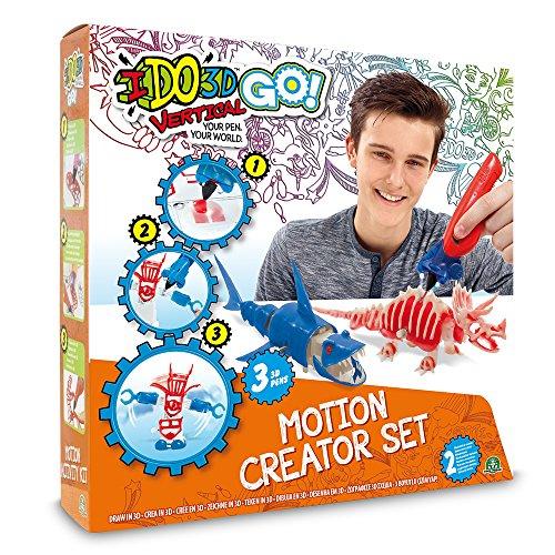 Ido3d - Ddd05 Go - Motion Creator Set - 3 Tubes - Modèle Aléatoire