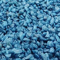 Aqua Della Gravier d'Aquarium Bleu 2 kg