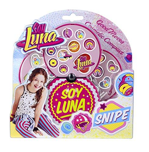 Disney Soy Luna Beauty-Set (umfangreiches Schmink-Set mit Creme-Lidschatten und Lipgloss inkl. Pinsel) in tollem Make Up-Koffer