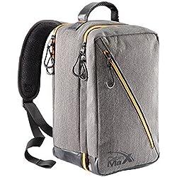 Oxford Stowaway Bag - 20x35x20cm - Stilvolle Carry On Cabin Bag perfekt für Ryanair Zweite Tasche Geld (Grau)