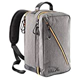 Oxford Stowaway Bag - 20x35x20cm - Carry On Bag Elegante Cabin perfetto per indennità di Ryanair Second bag (Grigio)