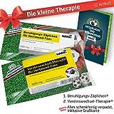 ZÄPFCHEN® Geschenk-Set: 1 - Die Kleine Therapie für BVB-Fans | Für Fans mit Borussia Dortmund Tasse, BVB Kaffee-Becher, Handtuch & BVB Fanartikel