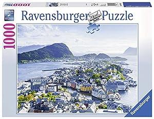 Ravensburger 19844-Vista sobre Ålesund Puzzle, 1000Piezas