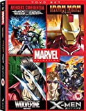 Avengers Confidential: Black Widow & Punisher / Marvel Anime: Ironman - Complete Series / Marvel Anime: Wolverine - Complete Series / Marvel Anime: X-Men - Complete Series - Set [Import italien]