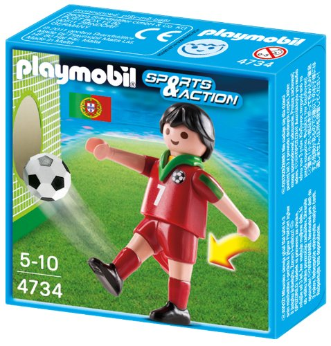 Playmobil 4734 - Fußballspieler Portugal