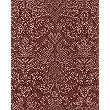 Amazon Fr Papier Peint Baroque Rouge