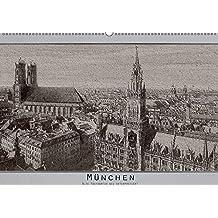 München, alte Postkarten neu interpretiert. (Wandkalender 2018 DIN A2 quer) Dieser erfolgreiche Kalender wurde dieses Jahr mit gleichen Bildern und ... vor den Kriegen (Monatskalender, 14 Seiten )
