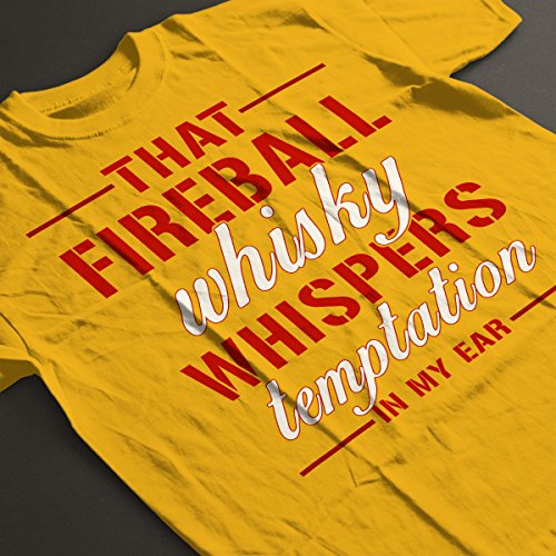 Fireball Whisky Women's T-Shirt Gold