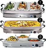 Best Buffet Servers - Homefront Pro-Series Buffet Server & Warming Tray (3-in-1) Review