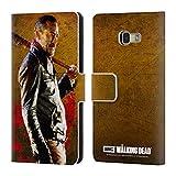 Offizielle AMC The Walking Dead Lucille 1 Negan Brieftasche Handyhülle aus Leder für Samsung Galaxy A5 (2017)