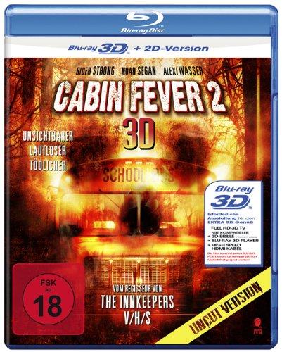 Bild von Cabin Fever 2 (Uncut) [3D Blu-ray + 2D Version]