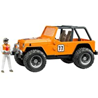 Bruder Jeep Cross Country Racer with Orange Racer