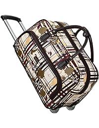 Fansport 20inch Rolling Duffle Bag Travel Rolling Bag Wheeled Bag For Unisex