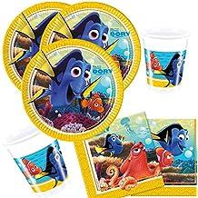 36-piezas juego de partido Findet Dory - Encontrar Nemo 2 - Plato Vaso Servilletas para 8 Niños