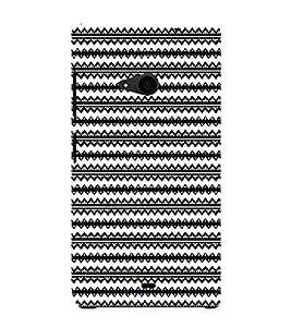 Ebby Premium 3d Desinger Printed Back Case Cover For Microsoft Lumia 535 (Premium Desinger Case)