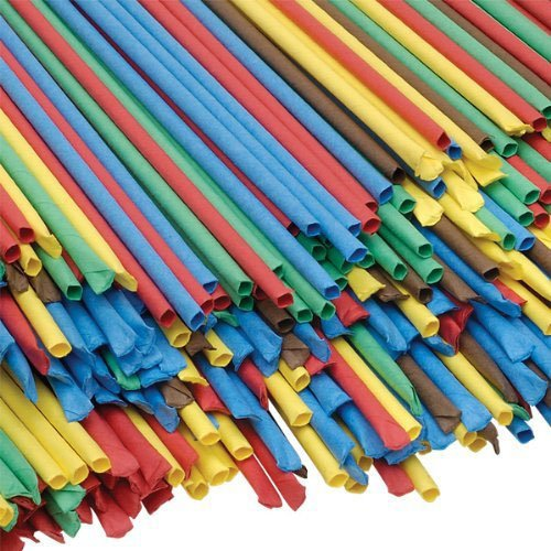 Artstraws School Pack   Thin    Pack of 1800   Assorted Colours