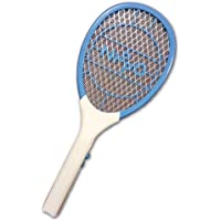 Nippo Terminator Mini Rechargeable Mosquito Bat with 6 Months Warranty & Get 10 Nippo Gold AA Battery Worth Rs.150