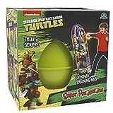 Il Super Pasqualone Ninja Turtles è uno speciale contenitore a forma di uovo, ideato da Giochi Preziosi. È perfetto per rendere unico il giorno di Pasqua a tutti i bambini amanti delle Tartarughe Ninja. Gioca e scopri tutte le sorprese conten...