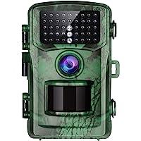 """TOGUARD Wildkamera 16MP FHD 1080P 2"""" LCD mit 22m Infrarot Nachtsicht Bewegungsmelder Jagdkamera 120°Weitwinkel Beutekameras wasserdichte Überwachungskamera"""