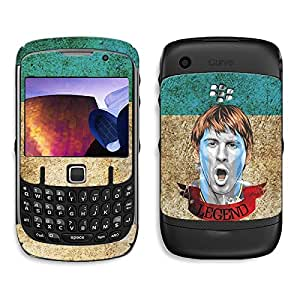 Bluegape Blackberry Curve 8250 Lionel Messi Football Player Phone Skin Cover, Multicolor