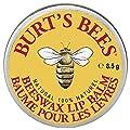 Burt's Bees 100% Natural Lip Balm Tin, Beeswax, 8.5 g from Cbee Europe LTD