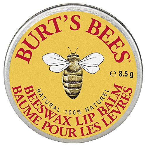 Burt's Bees Natural Lip Balm Tin, Beeswax (in der traditionellen Dose), 1er Pack (1 x 8,5 g)