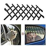 Welltobuy Pet auto barriera rete di sicurezza in auto porta Travle finestra guardia a scomparsa barriera di sicurezza per cane