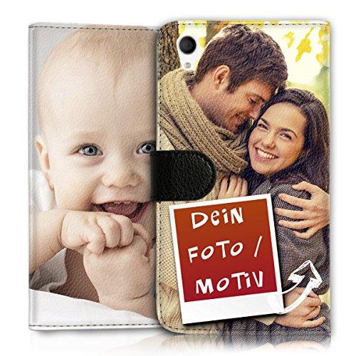 Wallet Book Style Flip Handy Tasche Case Schutz Hülle Schale Motiv Etui personalisiert für LG L Bello - Flip MHDD Eigenes Design (Bella-laptop-tasche)