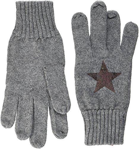 s.Oliver Damen Handschuhe 39711963130, Grau (Grey/Black Placed Print 97D1), One Size