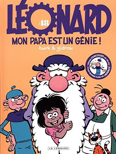 Léonard - tome 48 - Mon papa est un génie par Zidrou