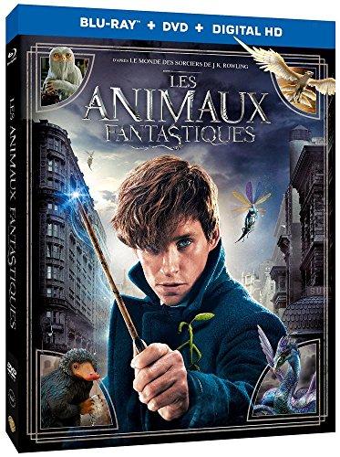 Les Animaux fantastiques - Combo - Le monde des Sorciers de J.K. Rowling - Blu-ray [Combo Blu-ray + DVD]