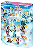 Playmobil Advent Calendar, Royal Ice Skating Trip with a Children's Bracelet