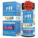 Strisce reattive pH per il test dei livelli alcalino e acido nel corpo. Monitora il tuo livello di pH usando la saliva e l'urina. Ottieni risultati altamente in secondi. 125 strisce per bottiglia