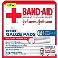 Band-Aid Medium Gauze Pads, 3 Inches by 3 Inches, 10 Count (3 Boxes) by J & J SALES & LOGISTICS CO preisvergleich bei billige-tabletten.eu