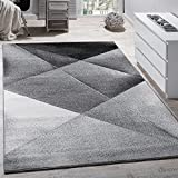 Modern Designer Carpet Grey Black White Style Top Quality At Top Price, Size:60x100 cm