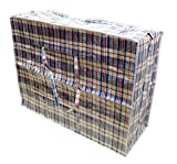 KARIERTE TRAGETASCHE TÜRKISCHE TASCHE 50x50x10 cm Farbe kann abweichen
