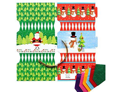 kit-to-make-6-santa-snowman-christmas-crackers-diy-christmas-cracker-crafts