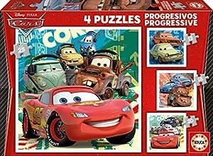Educa-Borrás-Cars/Pixar/Disney Puzzle, Multicolor 14942