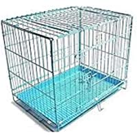HANU Enterprises Big and Adult Dog Heavy Crate Strong Metal - 42 Inch
