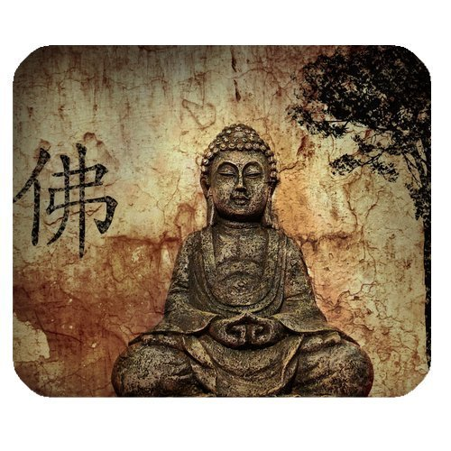 Religion Buddha Customized Rectangle Non-Slip Rubber Mouse Pad Gaming Mousepad (30cmx25cm) (SunshineMP-639)