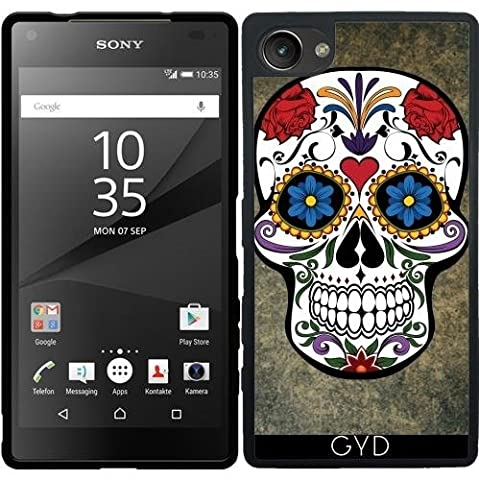 Coque Silicone pour Sony Xperia Z5 Compact - Crâne by WonderfulDreamPicture