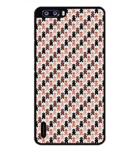 PRINTSWAG TEDDY PATTERN Designer Back Cover Case for HUAWEI HONOR 6 PLUS