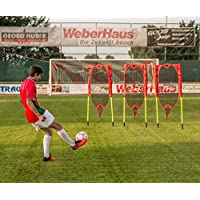POWERSHOT® Pop-Up Flexible Free-Kick Mannequins - Set of 3 - INNOVATIVE POP-UP FLEXI-MESH DESIGN - Perfect for football teams!