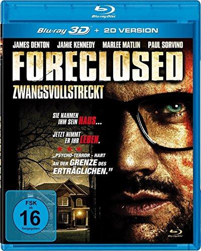 Foreclosed - Zwangsvollstreckung (inkl. 2D-Version) - Uncut - US-Version [3D Blu-ray]