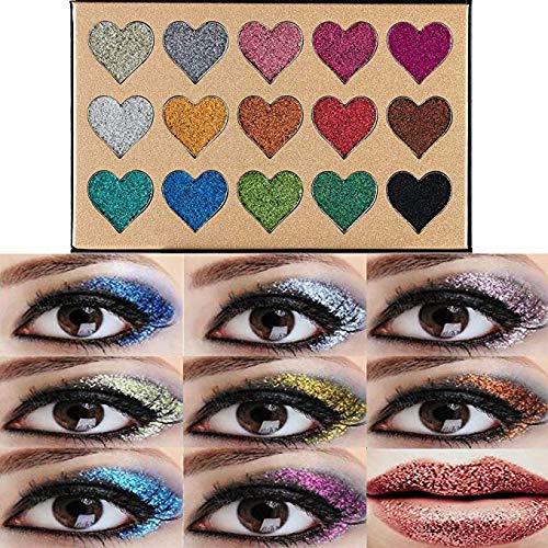 2. BEAUTY GLAZED Glitter Eyeshadow Palette