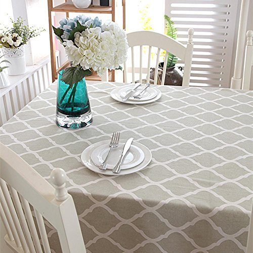 Liudaye Tischdecke Baumwolle Leinen Spitze tischdecke tischtuch